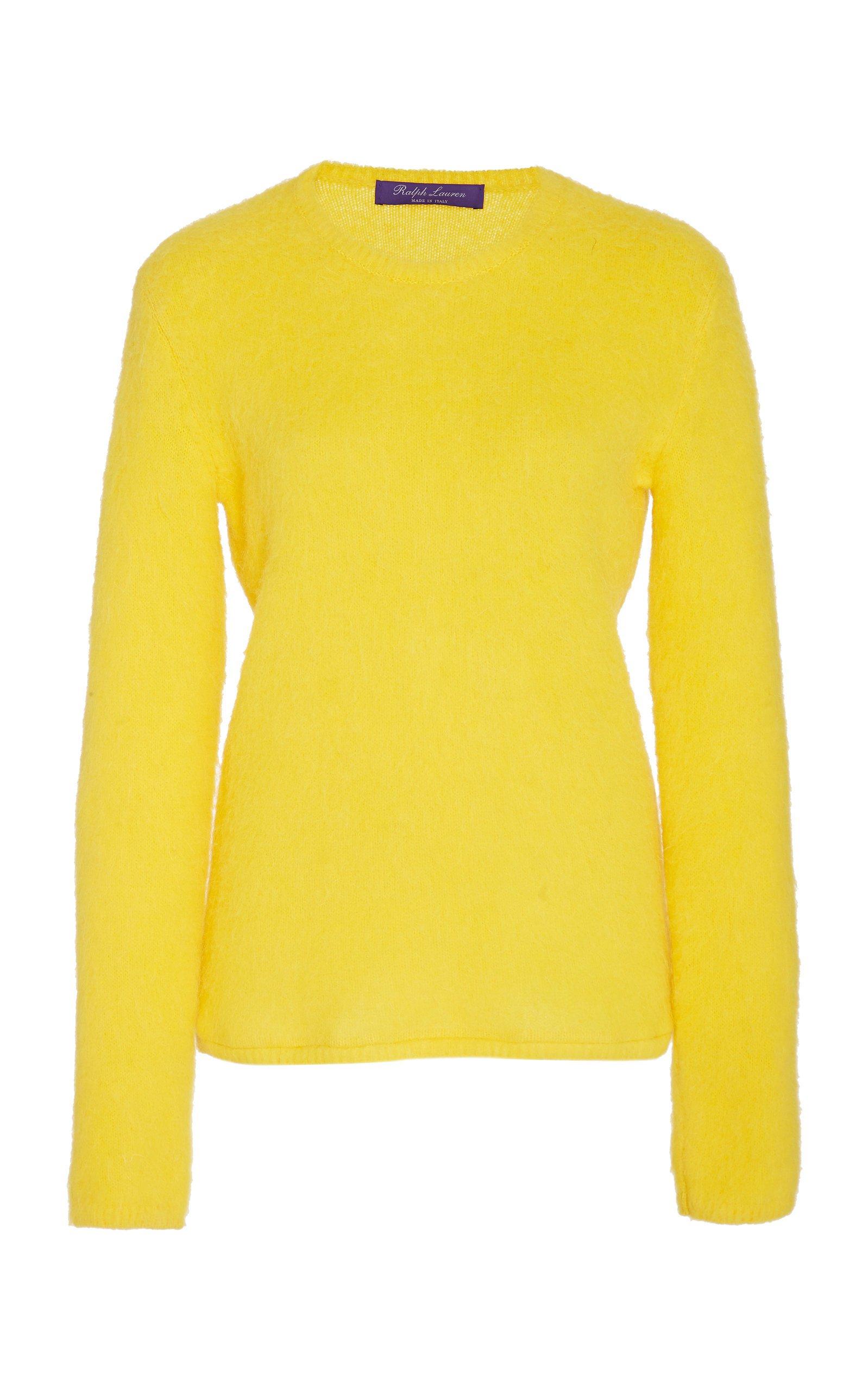 Ralph Lauren Cashmere-Blend Crewneck Sweater