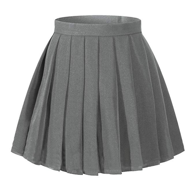 Amazon.com: Beautifulfashionlife Women's Japan high Waisted Pleated Cosplay Costumes Skirts: Clothing