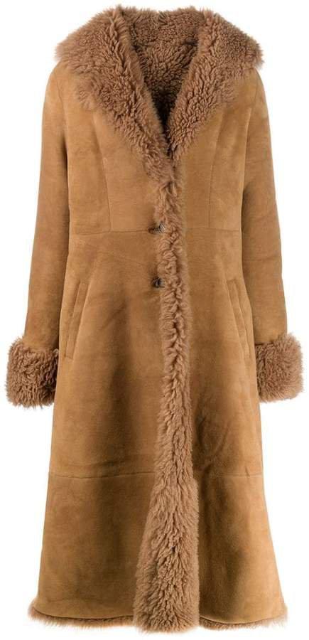 Liska flared hem coat
