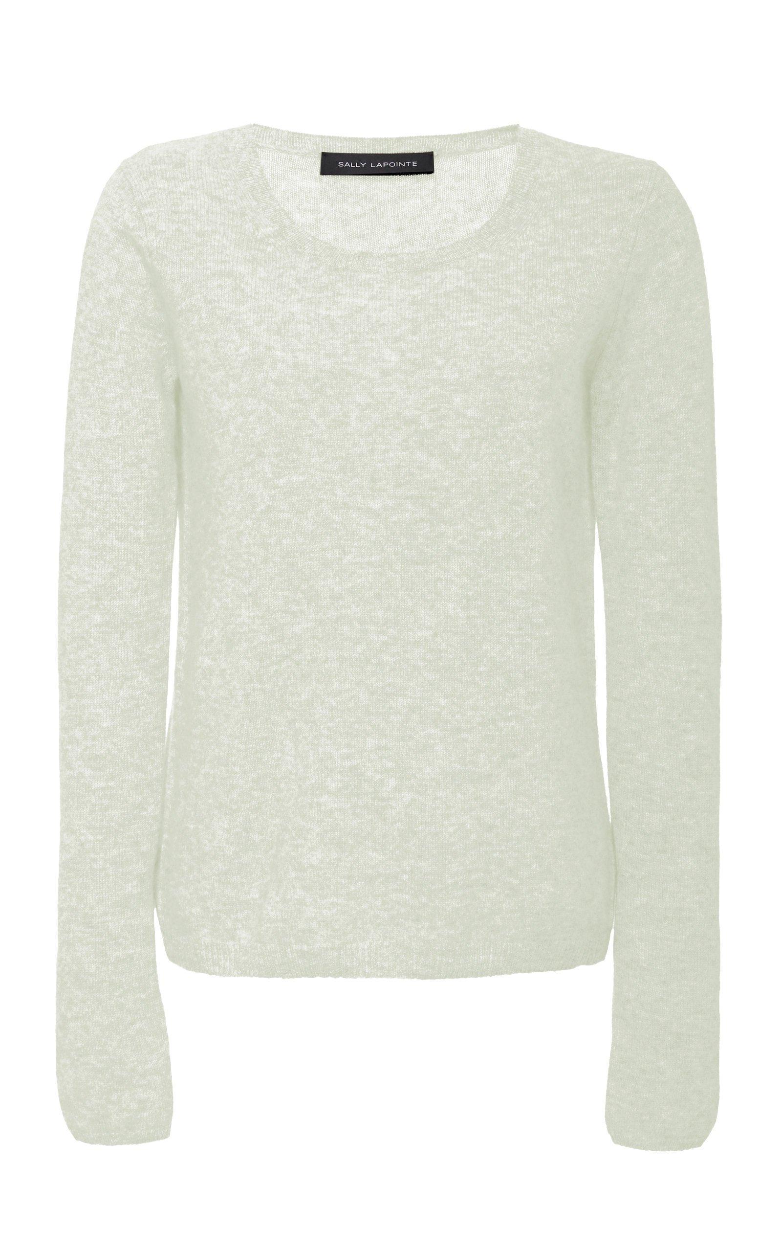 Sally LaPointe Cashmere Longsleeve Crewneck Sweater Size: S