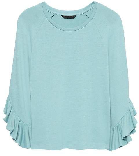 Luxespun Flutter-Sleeve T-Shirt