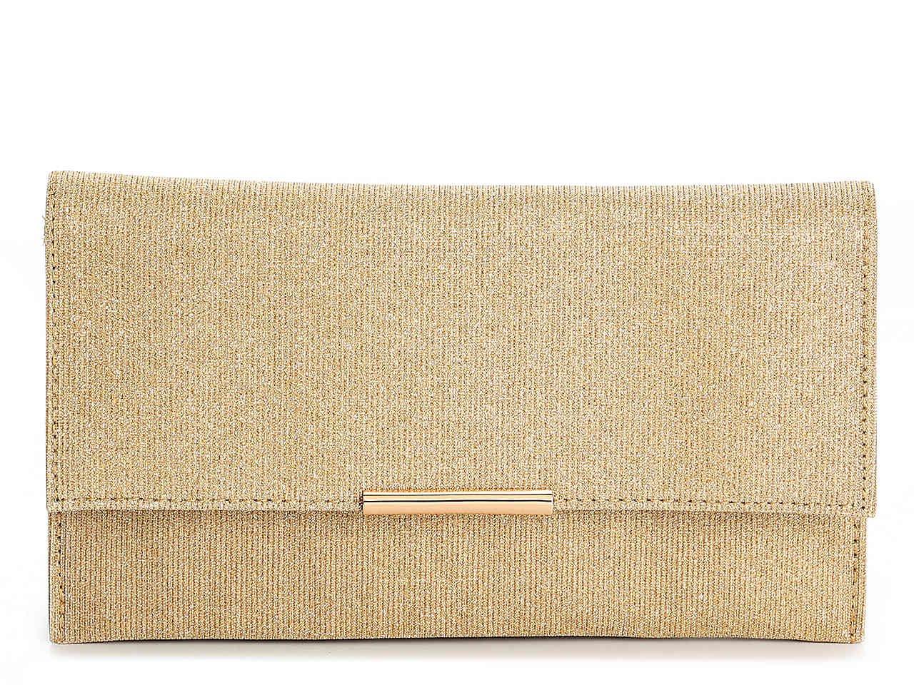 Lulu Townsend Shimmer Envelope Clutch Women's Handbags & Accessories   DSW