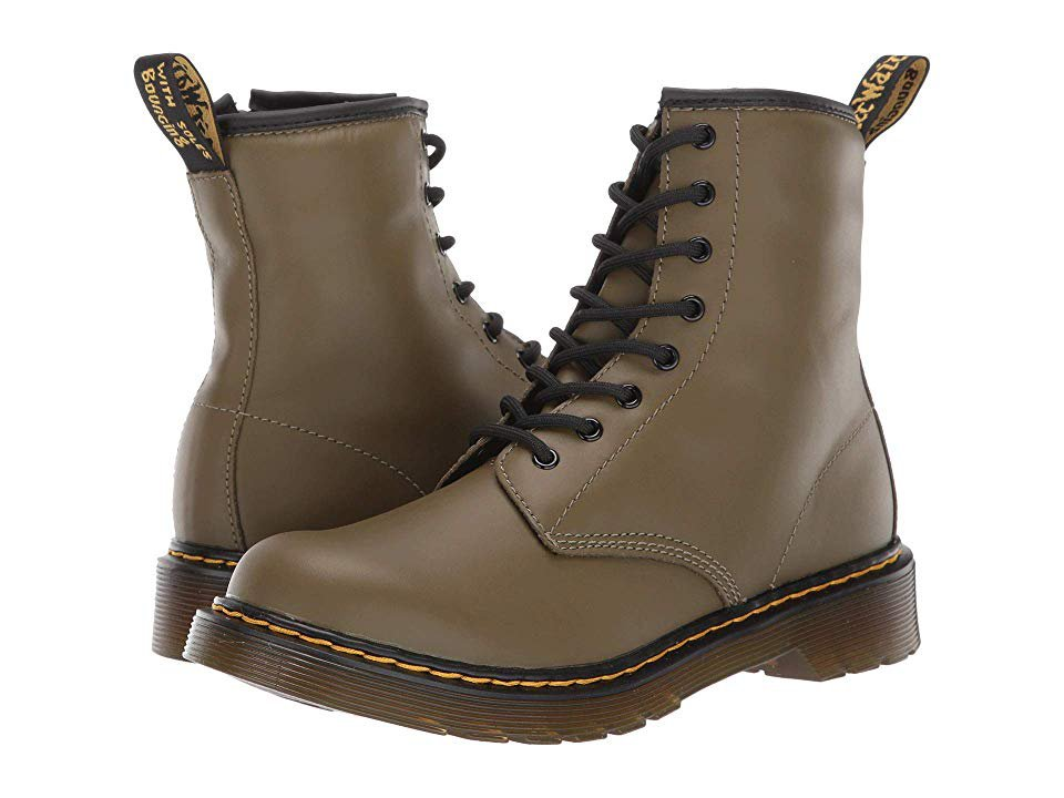 Dr Martens Olive Smooth