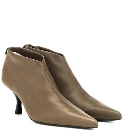 Bourgeoise leather ankle boots