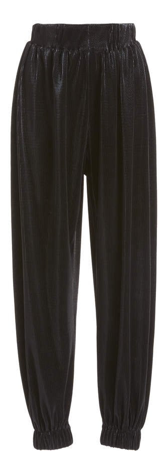 Kalmanovich High-Rise Tapered Pants Size: 0
