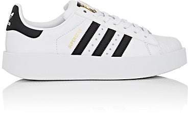 Women's Superstar Bold Leather Sneakers - White