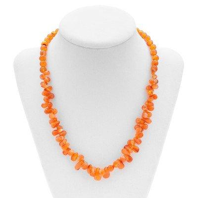 Carnelian Gemstone Necklace | Mystic Self LLC