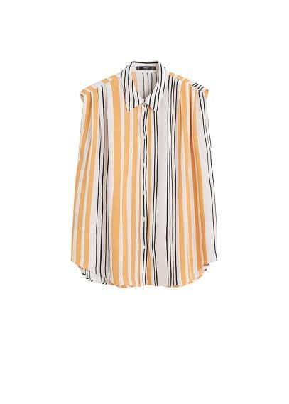 MANGO Sleeveless shirt