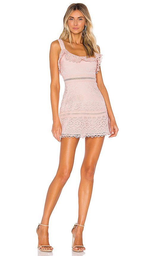 Lovers + Friends Happy Hour Dress in Pink   REVOLVE