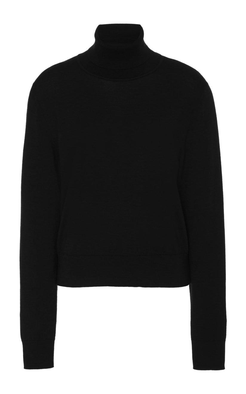 Chanic Wool-Cashmere Turtleneck Sweater by The Row | Moda Operandi