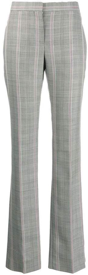 contrast check trousers