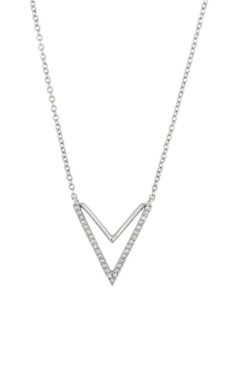 Carrière Diamond Double-V Pendant Necklace (Nordstrom Exclusive) | Nordstrom