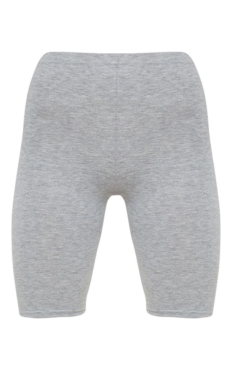 Grey Marl Basic Cycle Shorts | Shorts | PrettyLittleThing