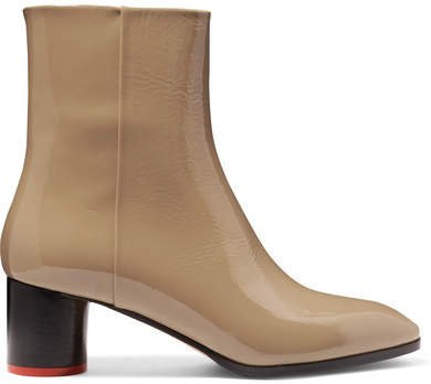 aeydē - Emily Patent-leather Ankle Boots