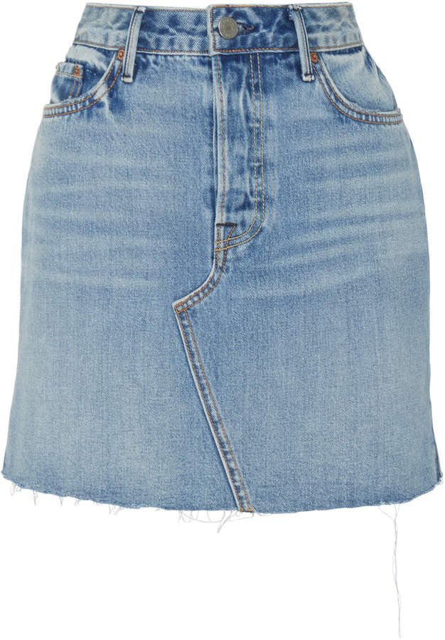 Denim Blaire Denim Mini Skirt