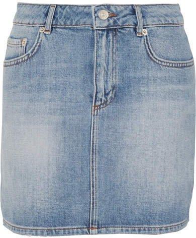 Denim Mini Skirt - Light denim