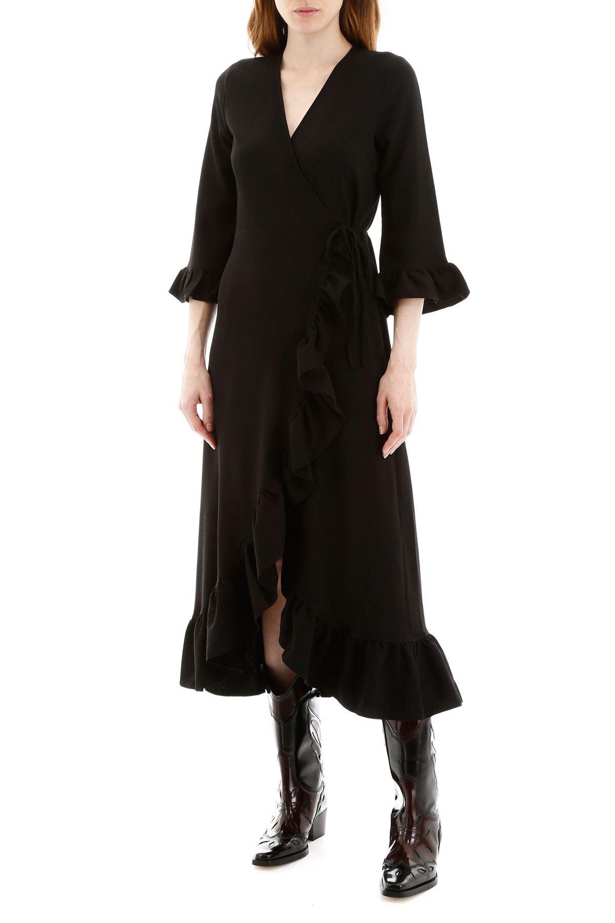 Women's Clothing Ganni for Woman Black