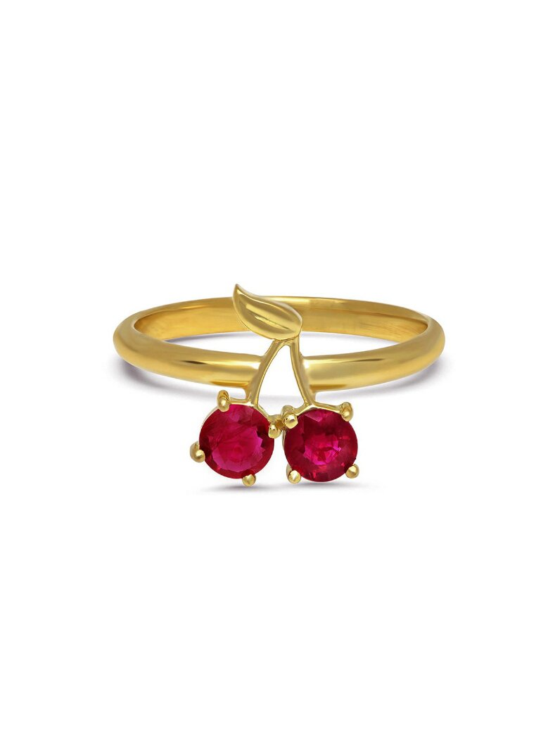Established Jewelry - Cherry Ruby Ring - Ylang 23