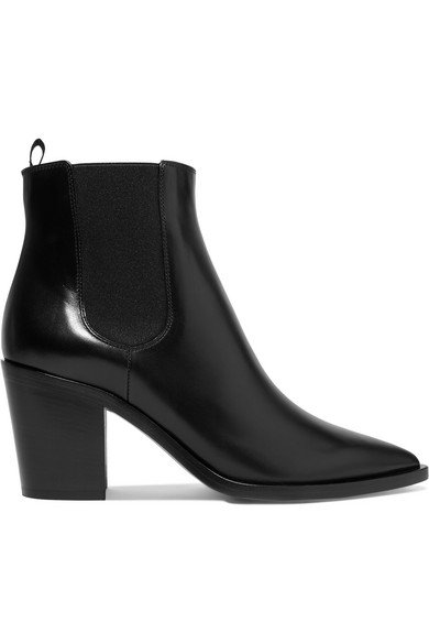 Gianvito Rossi | 70 leather Chelsea boot | NET-A-PORTER.COM