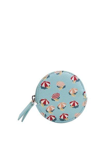 MANGO Beach print purse