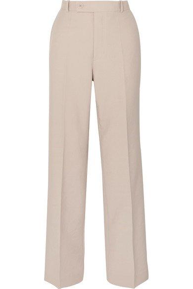 Helmut Lang | Woven wide-leg pants | NET-A-PORTER.COM