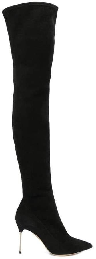 Godiva Steel thigh boots