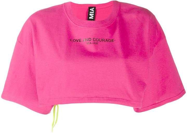 Mia-Iam cropped sweatshirt