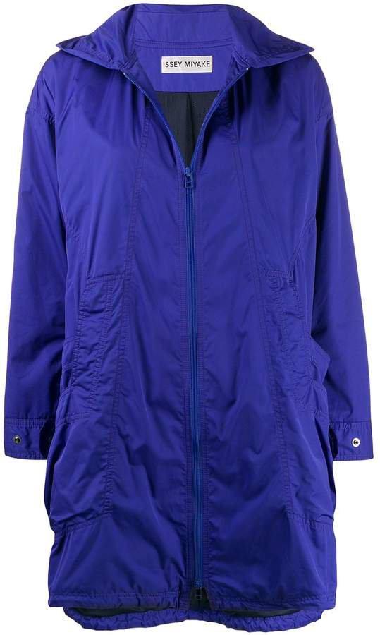 Pre-Owned 2000s hooded raincoat