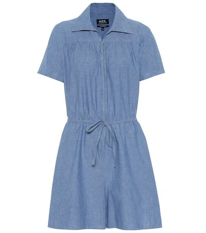 Ursula cotton chambray jumpsuit