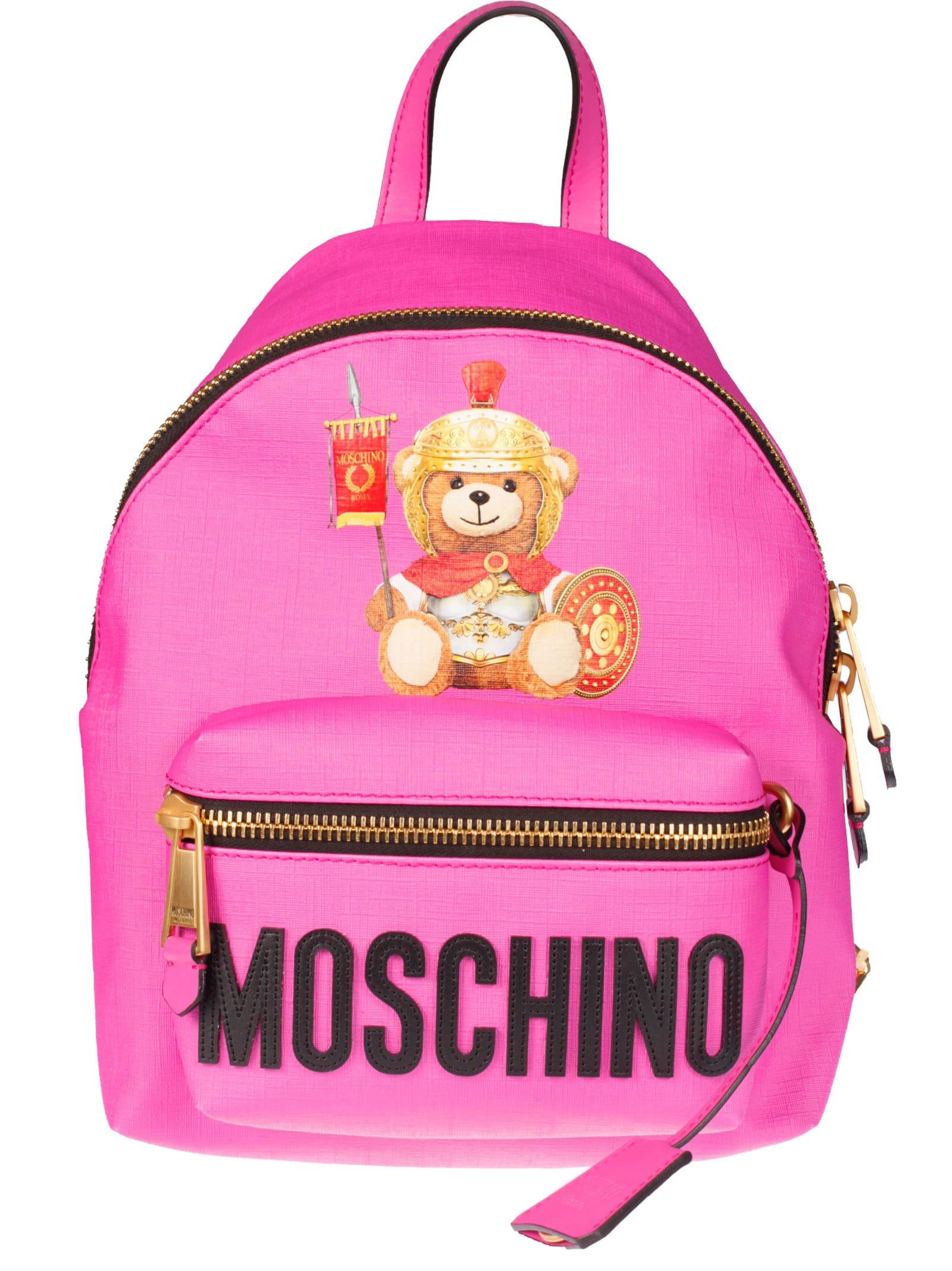 Moschino Teddy Print Backpack