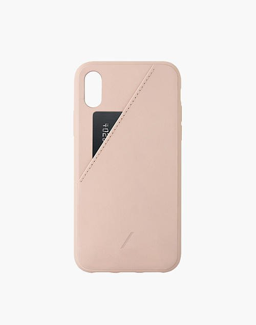 NATIVE UNION™ Clic Leather Card Case for iPhone® XS Max