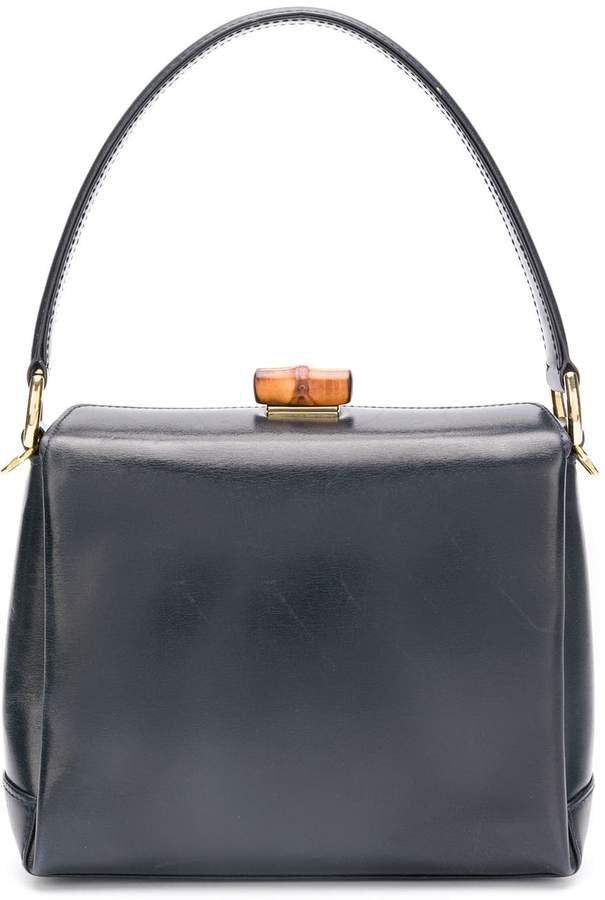 Pre-Owned mini square tote bag