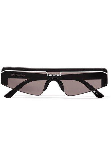 Balenciaga | Ski D-frame acetate sunglasses | NET-A-PORTER.COM