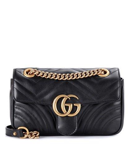 GG Marmont Mini matelassé leather shoulder bag
