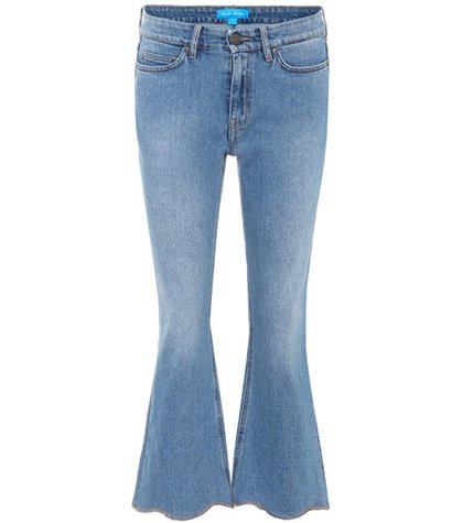 Marty cropped flared jeans