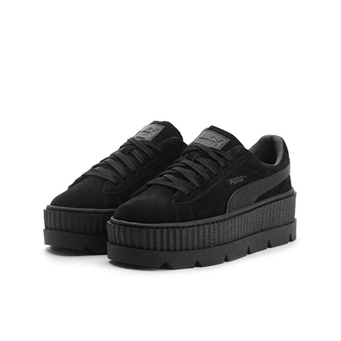 Amazon.com | Puma x Fenty by Rihanna Women Cleated Creeper Suede Black puma Black Size 9.0 US | Shoes