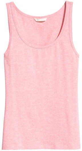 Jersey Tank Top - Pink