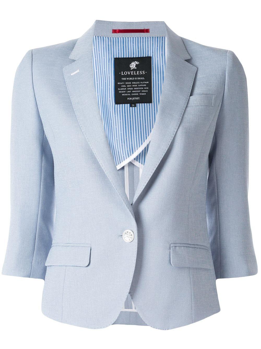 Loveless 3/4 sleeve blazer $298 - Buy Online SS19 - Quick Shipping, Price