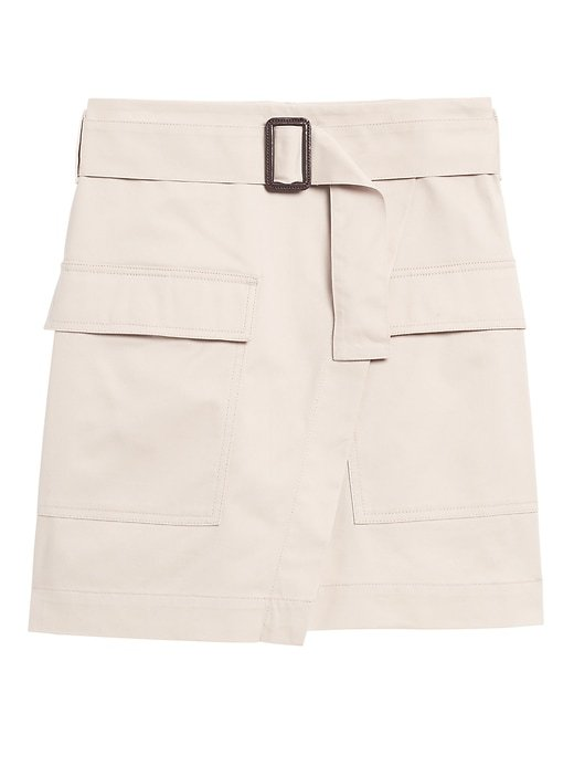 Utility Wrap Mini Skirt | Banana Republic