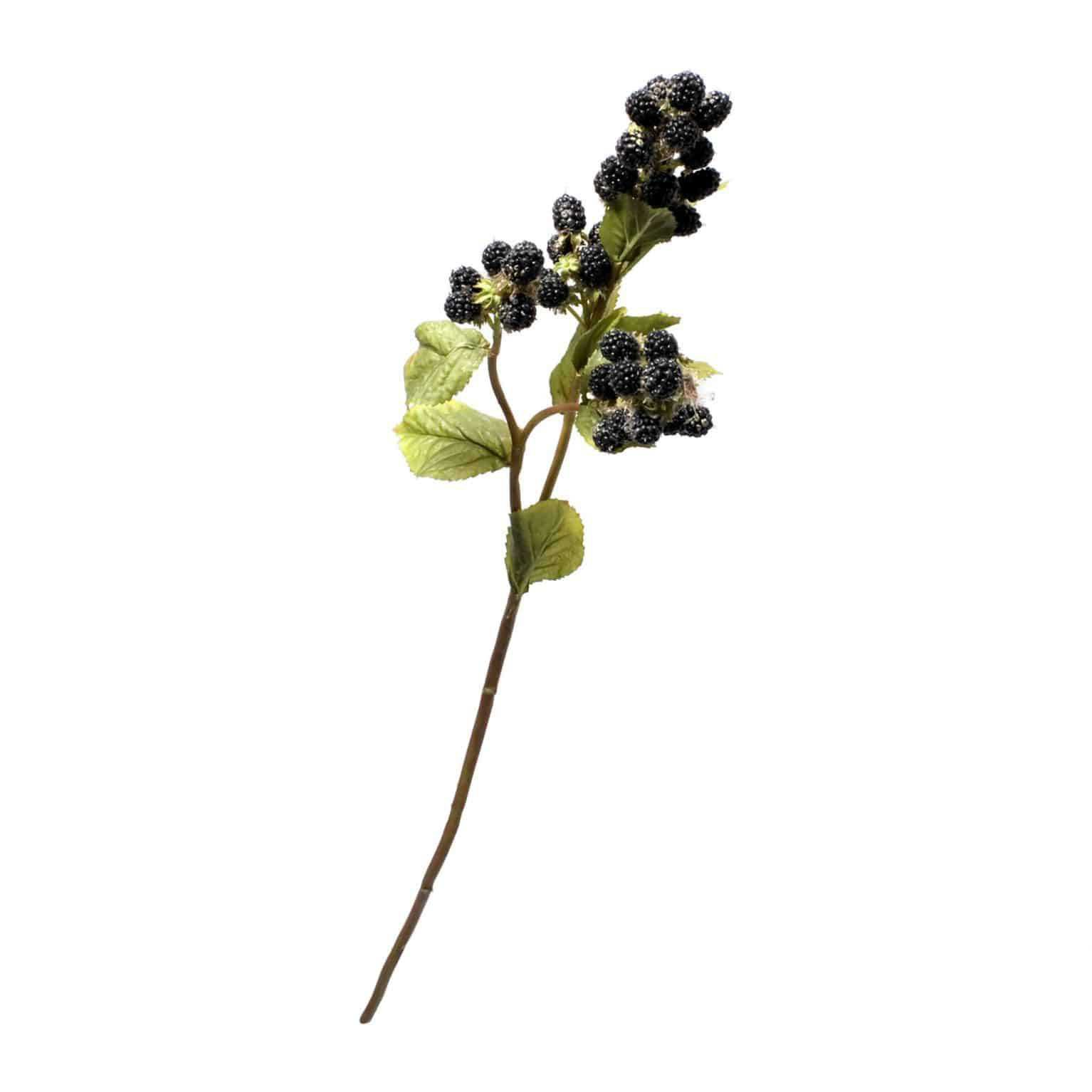 Blackberries Spray Faux Stem - S-BST00001 - Product - Lifelike Flowers