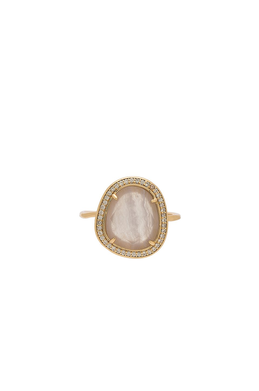 Stone Slice Ring