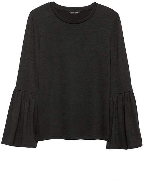 Luxespun Bell-Sleeve Top