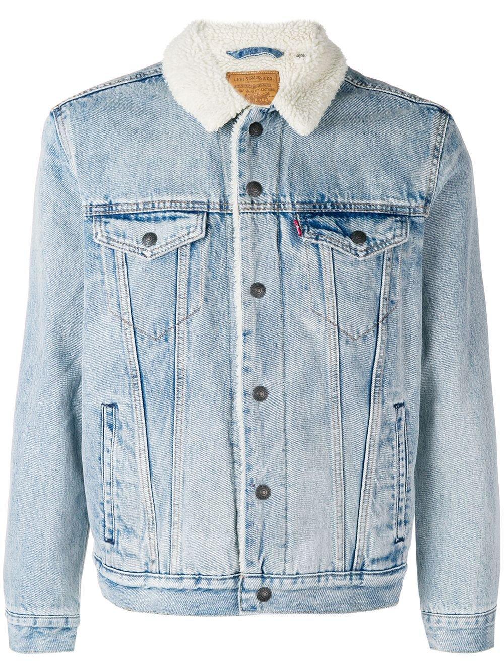 Levi's Sherpa Trucker jacket £126 - Shop Online - Fast Global Shipping, Price