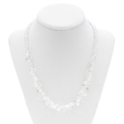 Crystal Clear Quartz Necklace   Mystic Self LLC