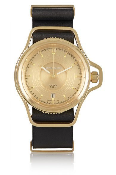 Givenchy | Seventeen watch in gold-plated stainless steel | NET-A-PORTER.COM