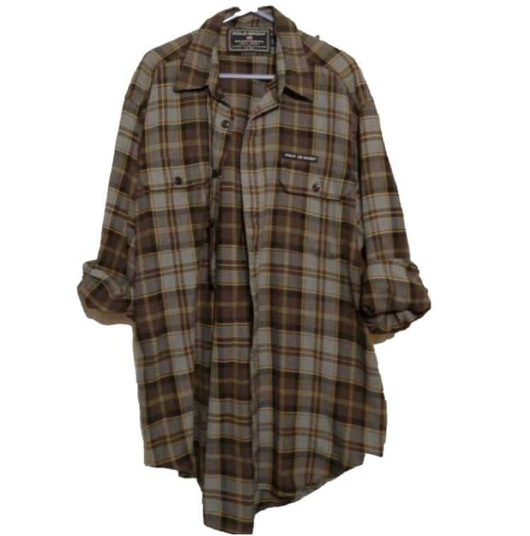 Brown and Grey Flannel
