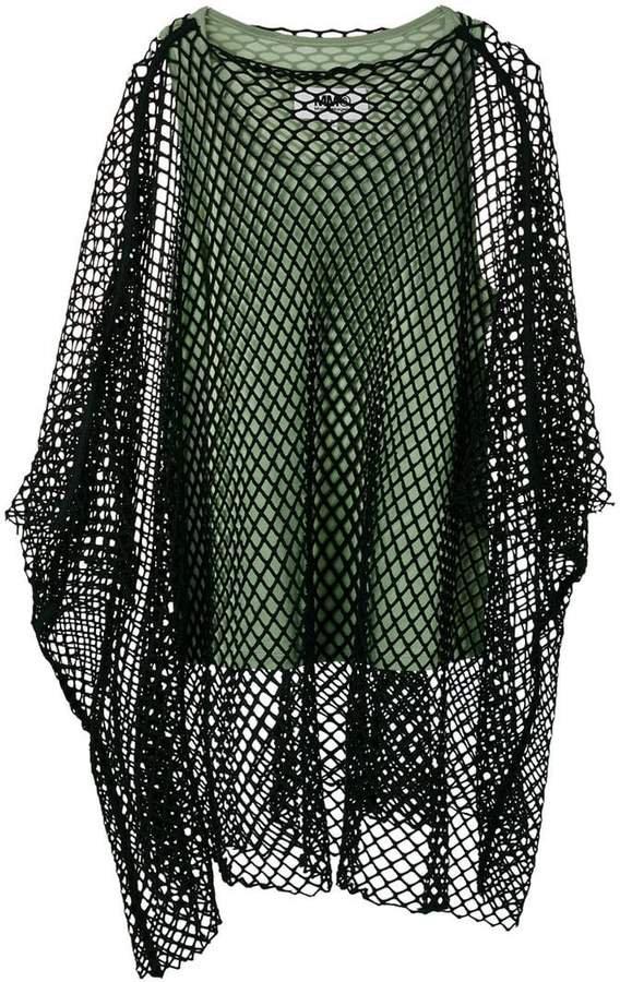 mesh overlay top