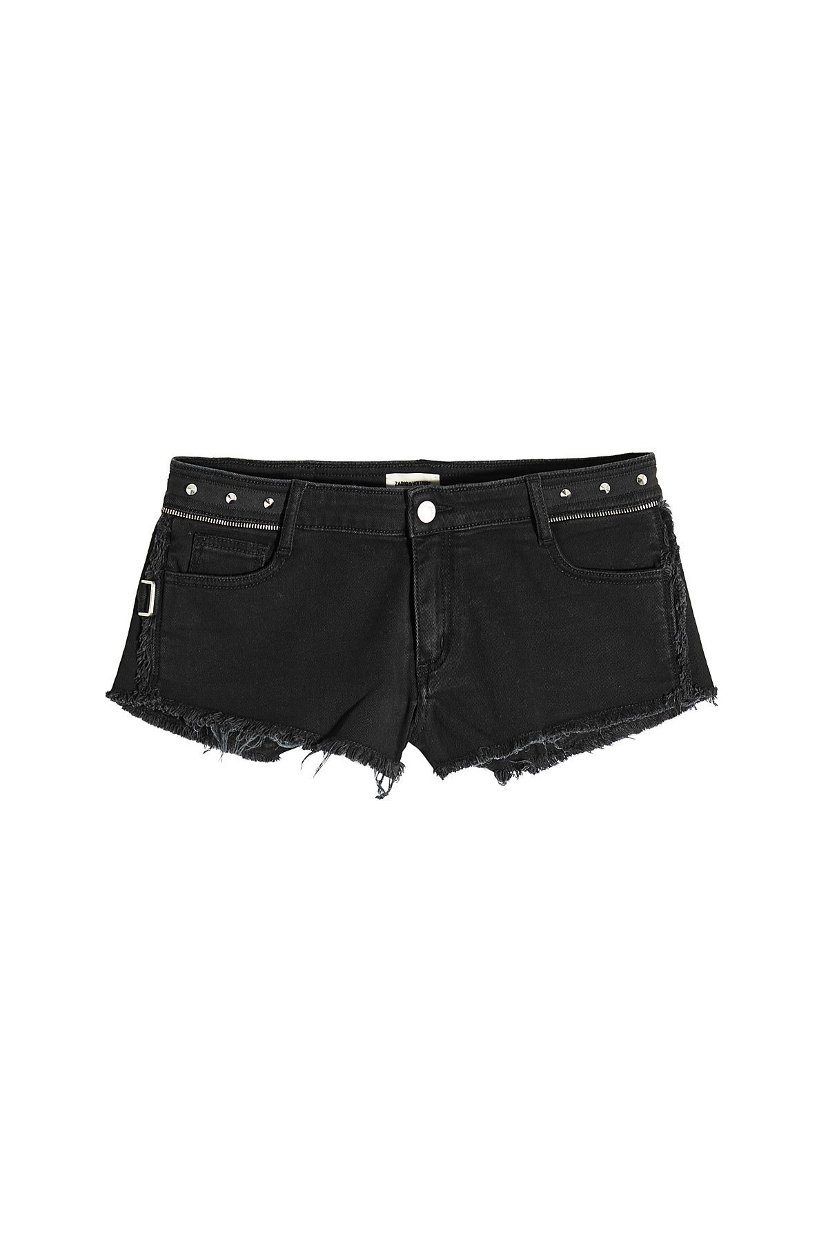 Paly Spikes Denim Cut-Offs Gr. FR 38