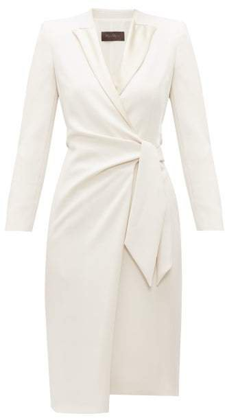 Curve Dress - Womens - Ivory