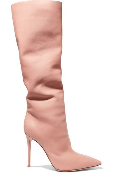 Gianvito Rossi | 105 leather knee boots | NET-A-PORTER.COM